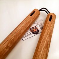 12 inch Red Oak Nunchaku