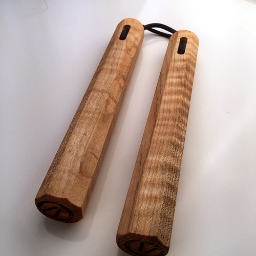 Curly Maple Nunchaku Sale