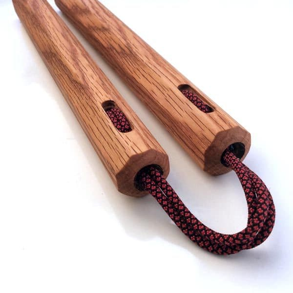 Red Oak Nunchaku