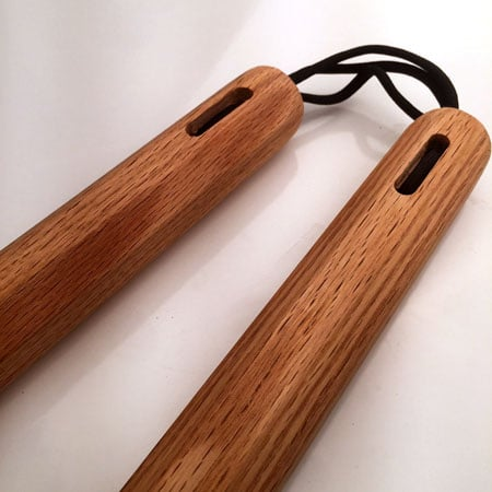 Red Oak Nunchaku School Pack
