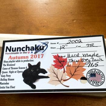 Hard Maple Nunchaku