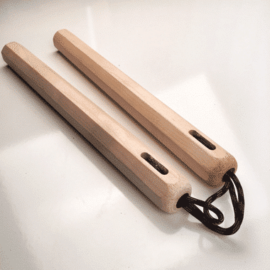 12 inch Hard Maple Nunchaku