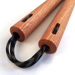 Nunchaku Round Red Oak
