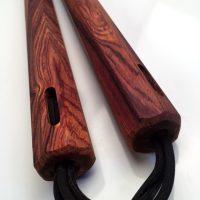 12 inch Cocobolo Nunchaku