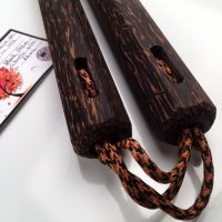 Black Palm Nunchaku