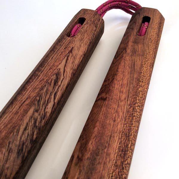 14.5 inch Sapele Nunchaku