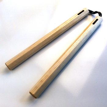 Ash Hardwood Martial Arts Nunchaku