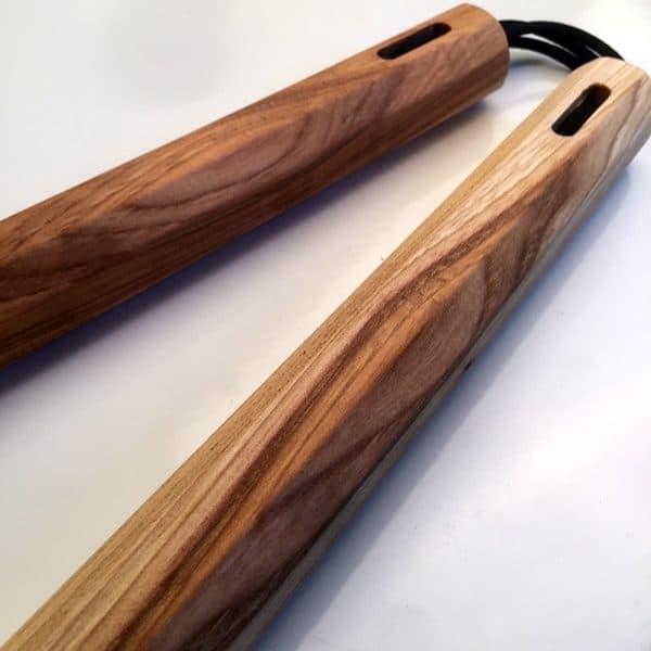 13 inch Hickory Nunchaku