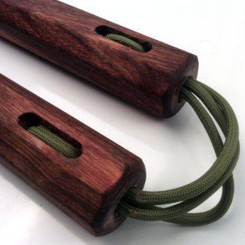 Black Poisonwood Nunchaku