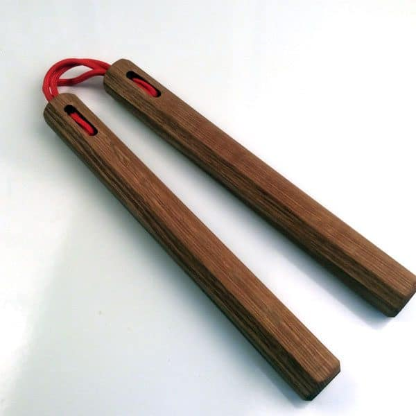 9.5 inch Red Oak Nunchaku
