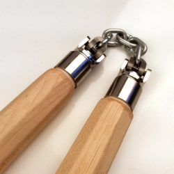 Hard Maple Tapered Universal Chain Nunchaku