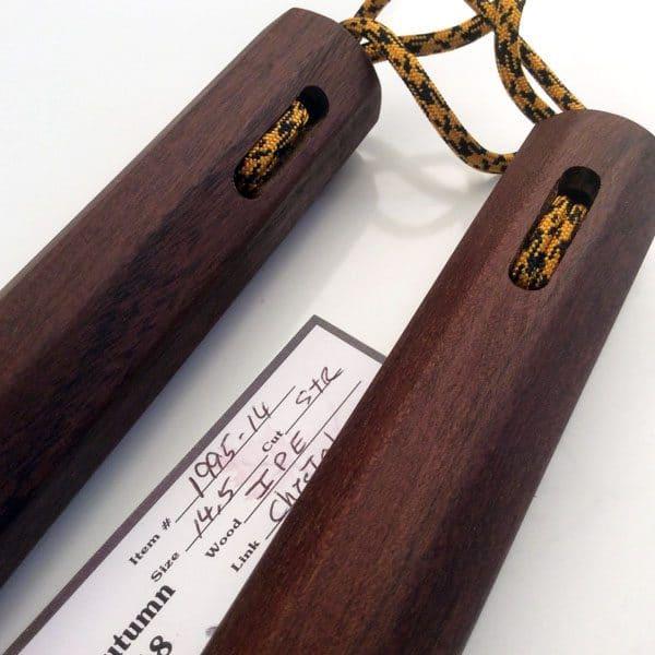 14 inch Brazilian Walnut Nunchaku