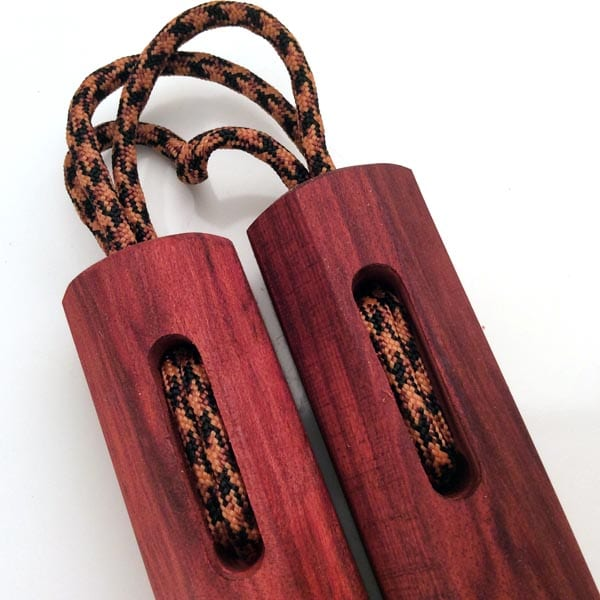 Red Heart Slim Nunchaku