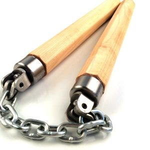 Hard Maple ShortStop Nunchaku